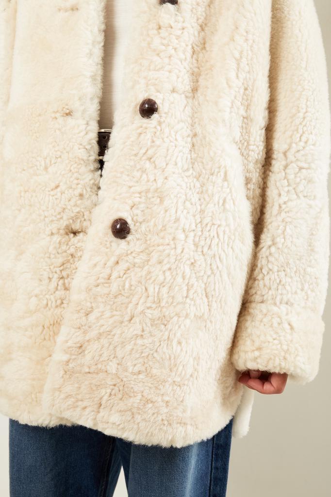 Isabel Marant - Sarvey curly shearling coat