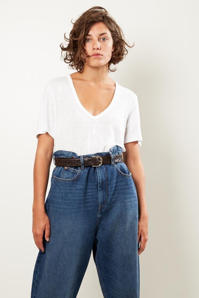 Etoile Isabel Marant Kranger linen tee shirt