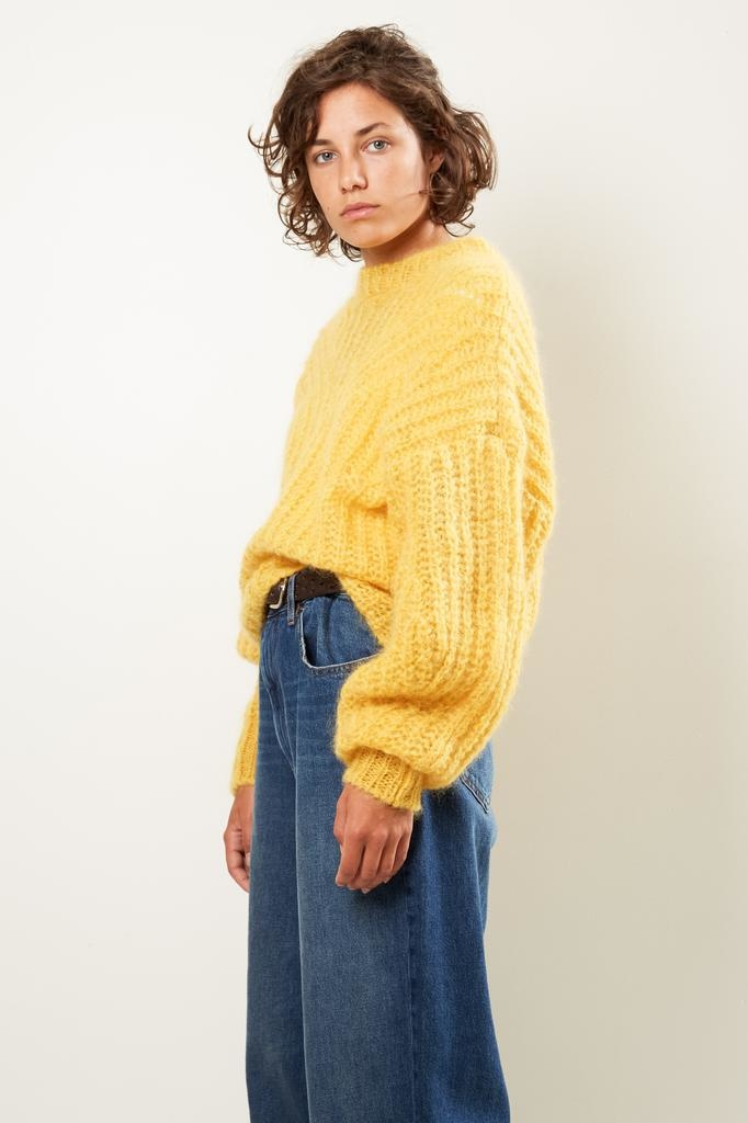 Isabel Marant - Inko chunky light knit sweater