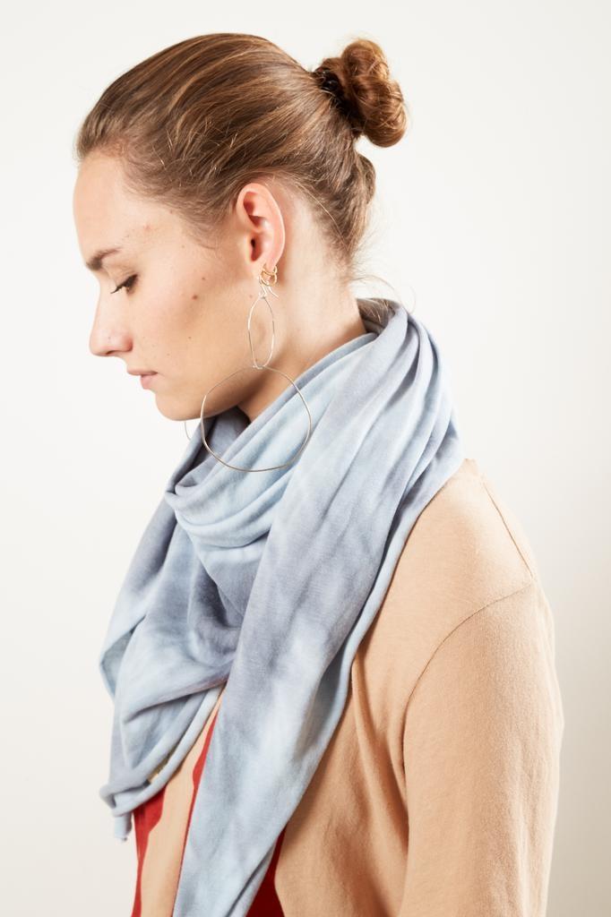 Raquel Allegra - square tie dye scarf