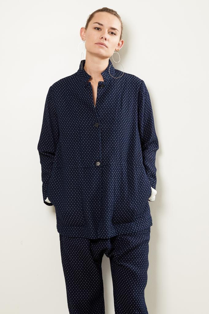 Raquel Allegra Buttoned blazer