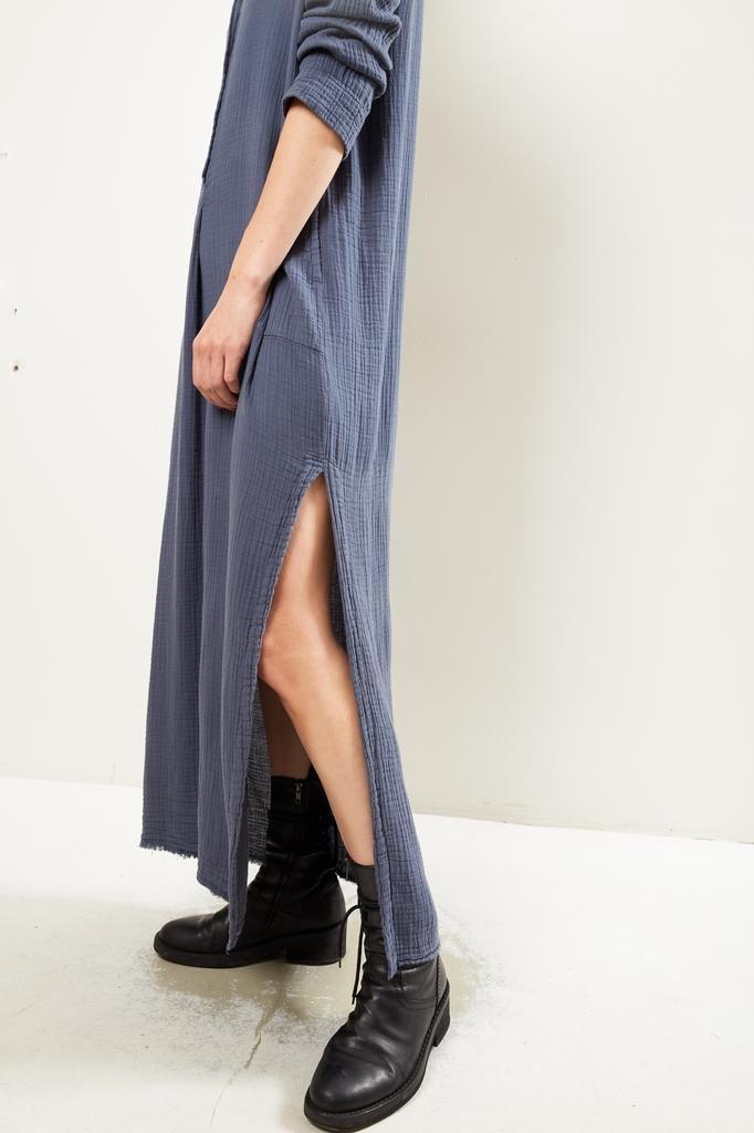 Raquel Allegra - Henley maxi dress