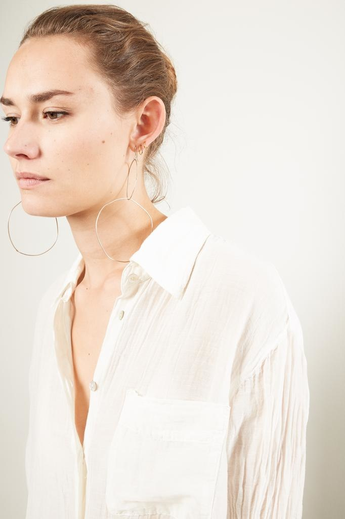 Raquel Allegra Button Up Shirt