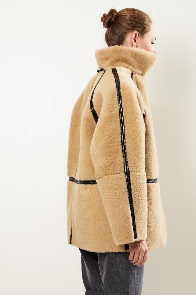 KASSL - Reversible laquersheepskin coat