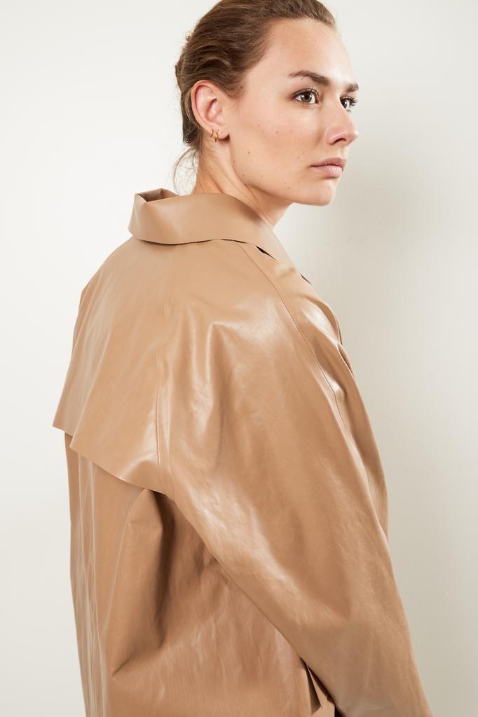 KASSL Oil brown trench coat