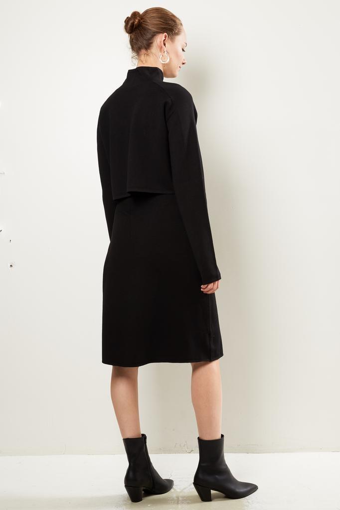 Helmut Lang - Compact wool skirt