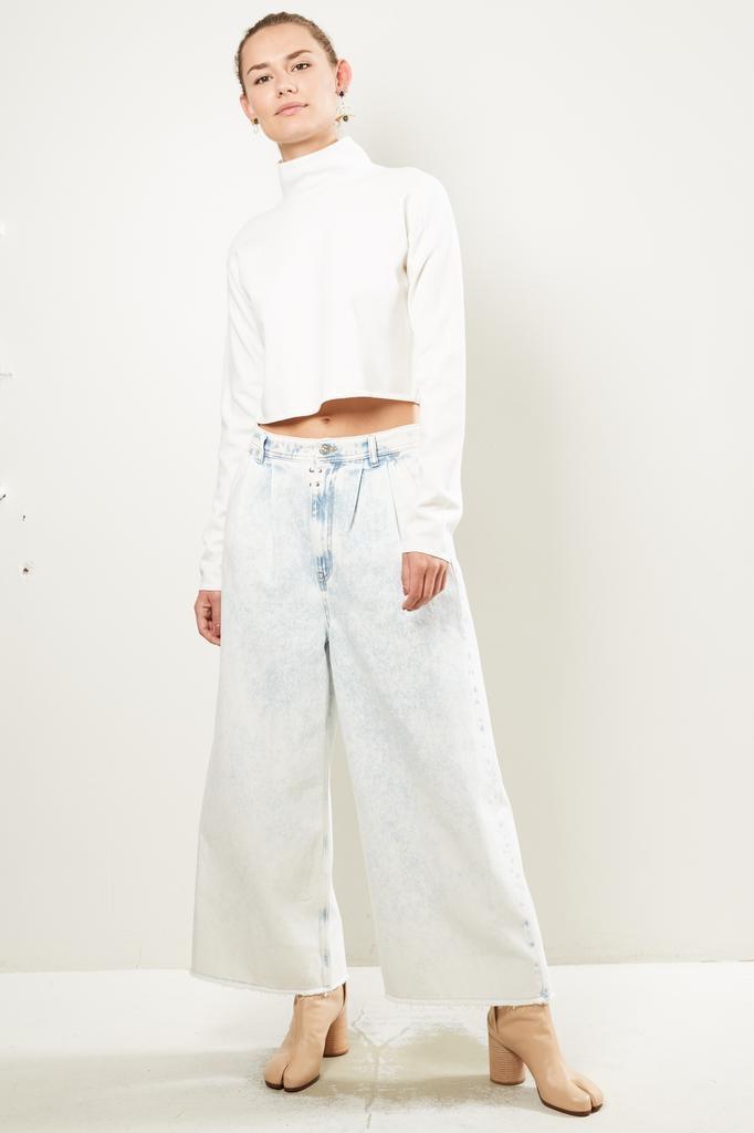 MM6 Super Bleach Wash jean