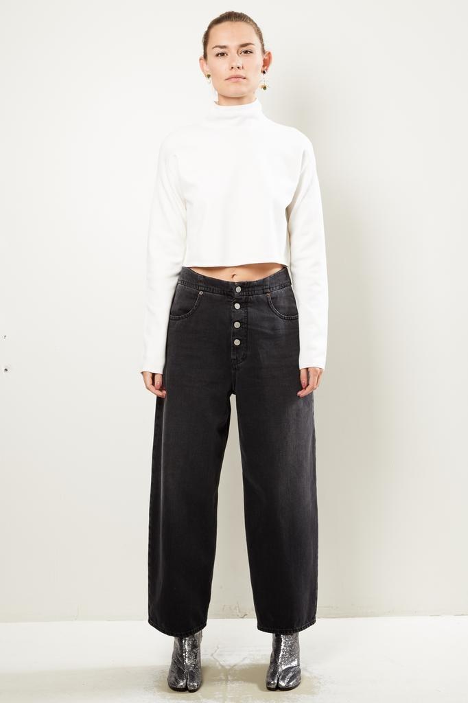 MM6 - Pants 5 Pockets Denim