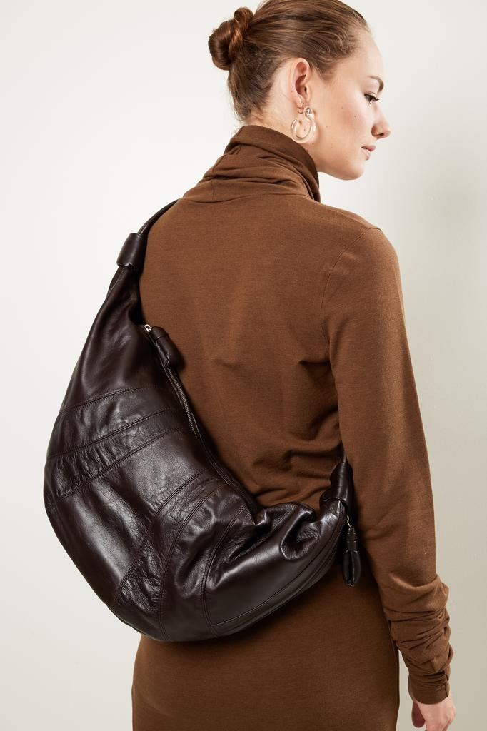 Lemaire - Large bum soft nappa leather bum bag