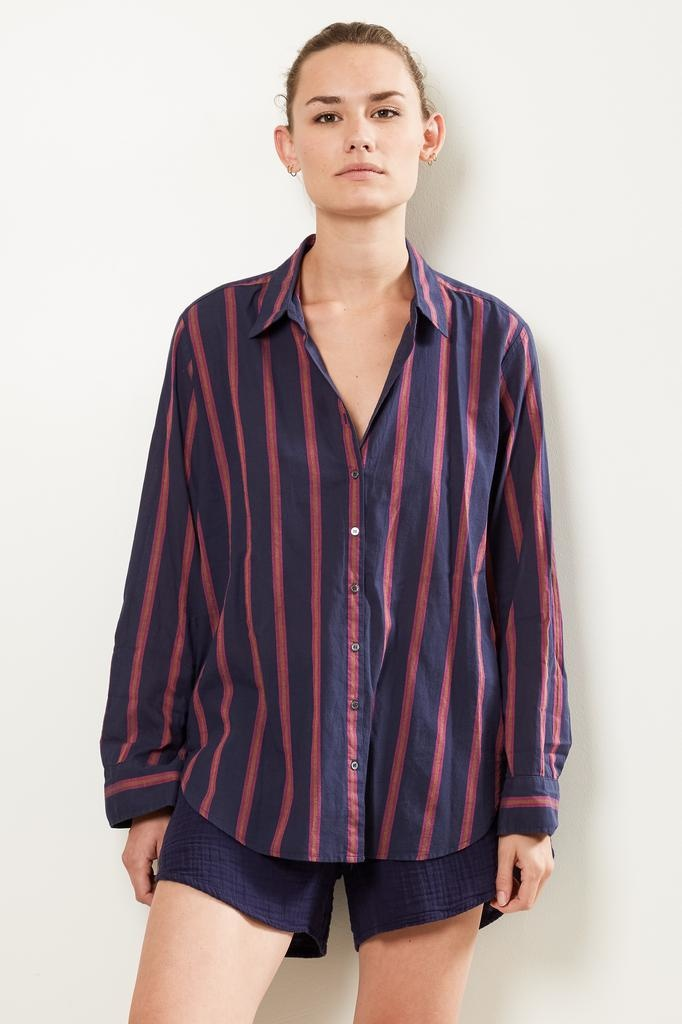 Xirena Beau benton striped shirt