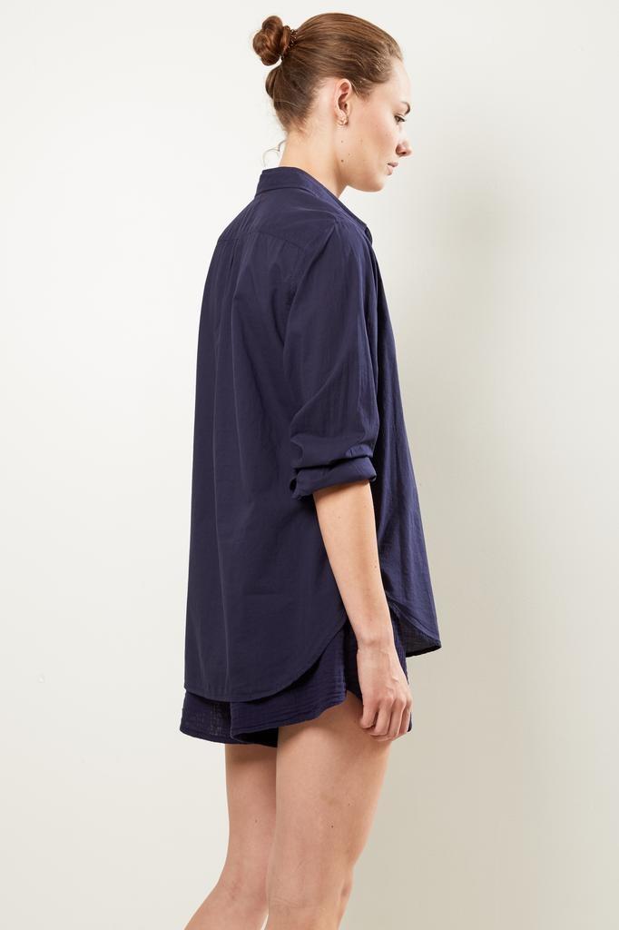 Xirena Beau cotton poplin shirt