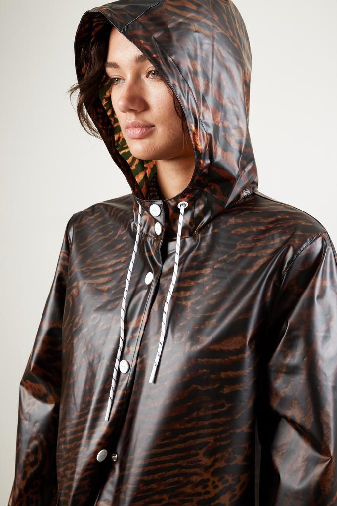 Ganni Biodegradable tiger coat