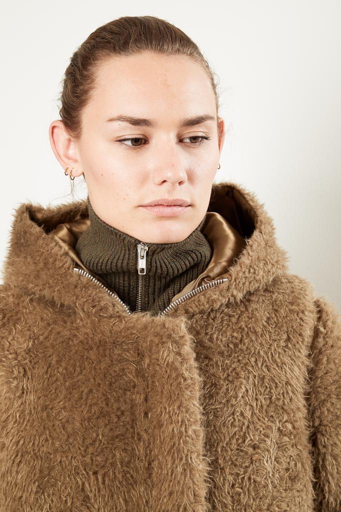 Helmut Lang Detachable liner fur coat