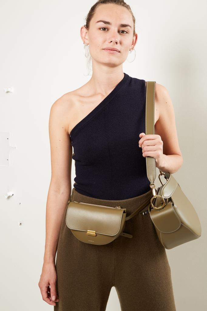 Wandler Anna calf leather belt bag big