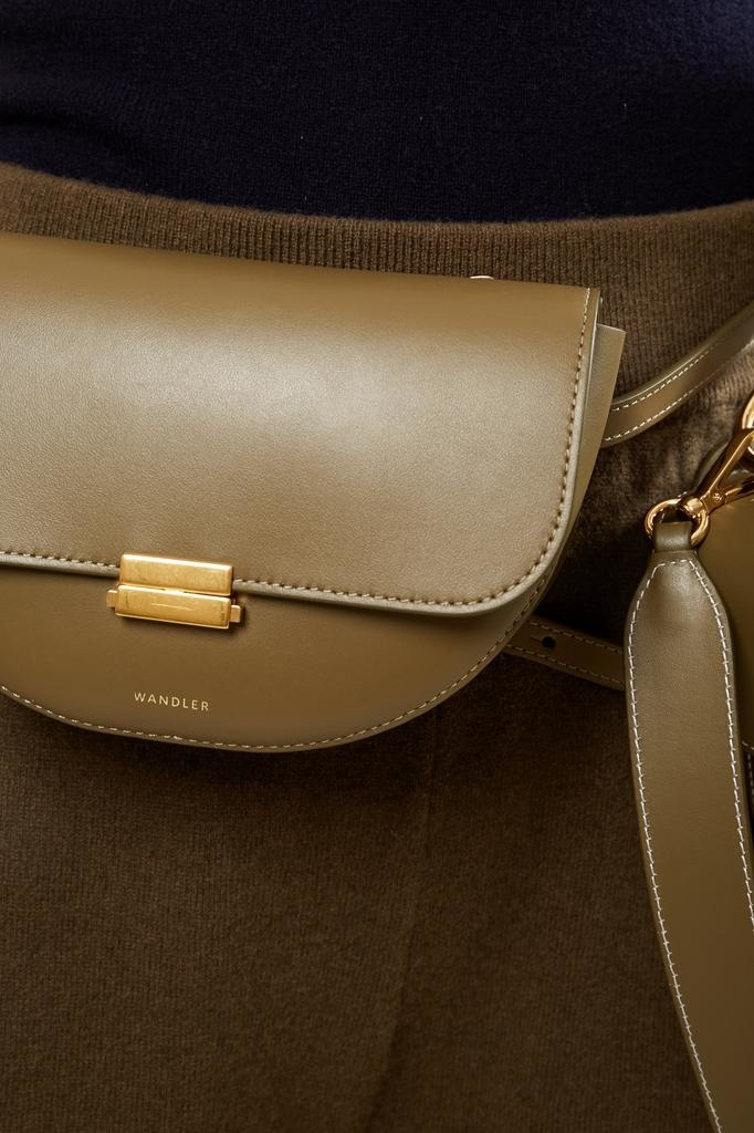 Wandler - Anna calf leather belt bag big