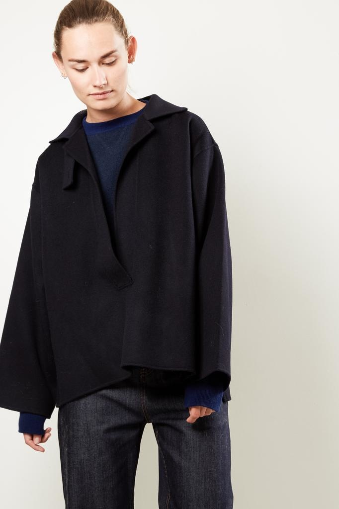 Sofie d'Hoore Canton doble faced wool cahmere anorak