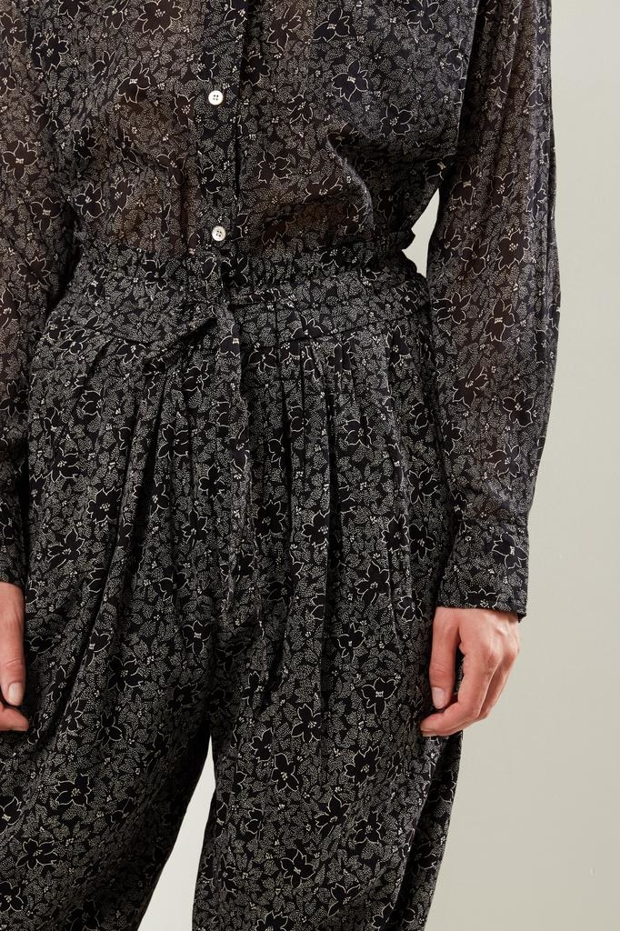 Etoile Isabel Marant - Lively printed cotton trousers