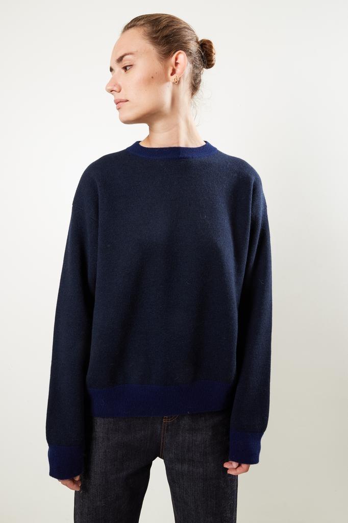 Sofie d'Hoore Melt cashmere combi colour sweater