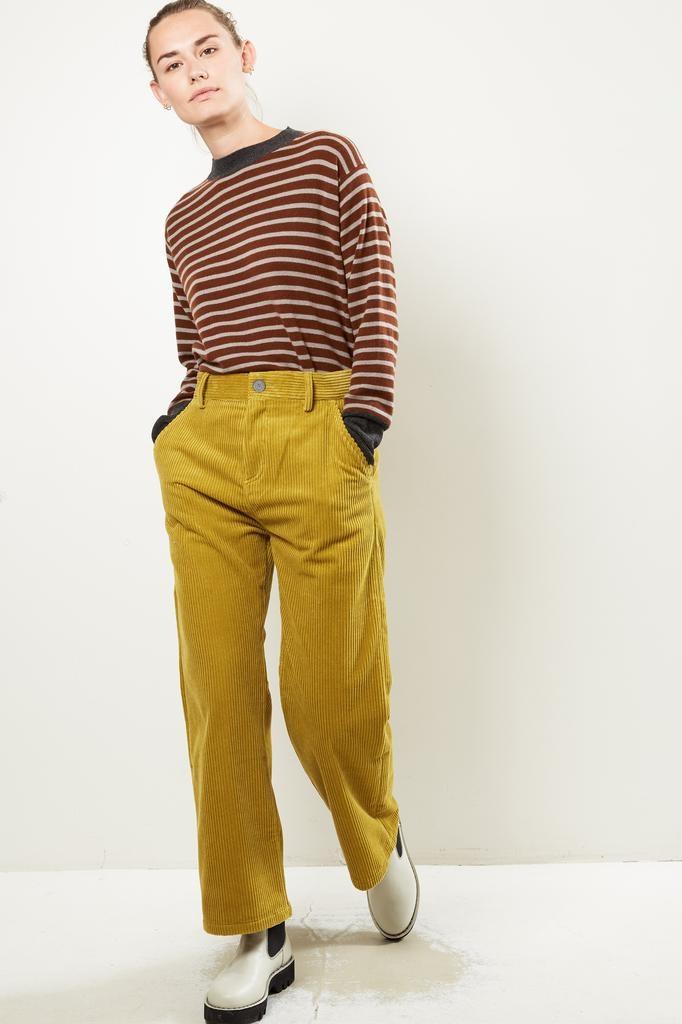 Sofie d'Hoore Parole corduroy velvet trousers