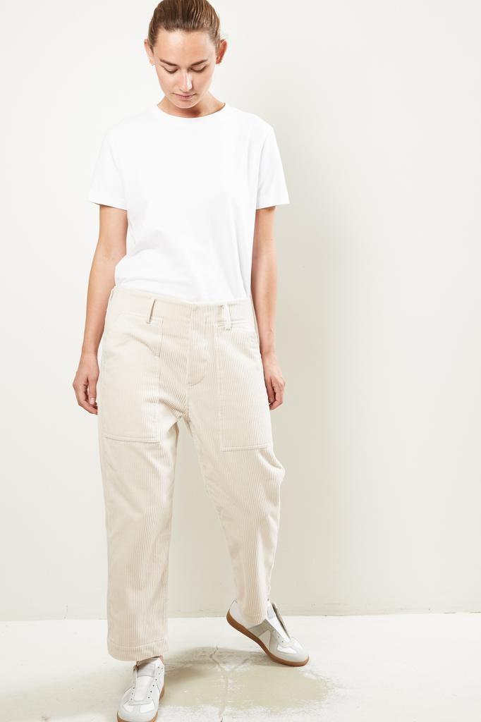 Sofie d'Hoore Porter corduroy velvet trousers