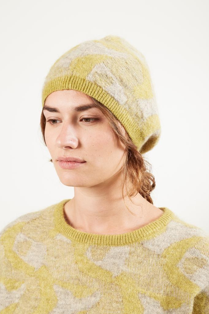 Humanoid Kim jacquard romance hat