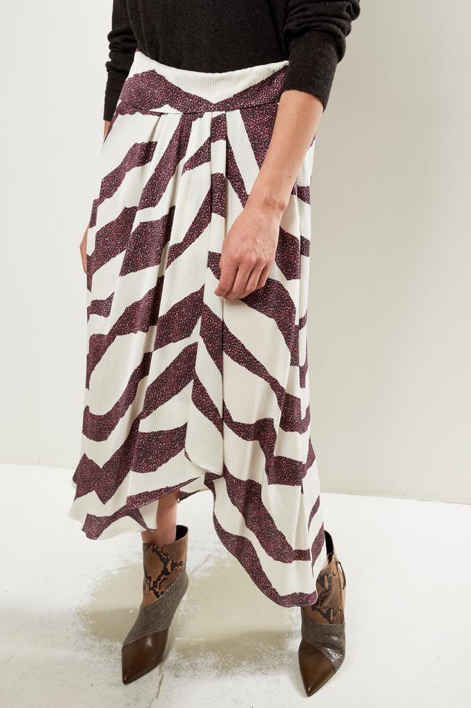 Isabel Marant - rebeca new zebra skirt