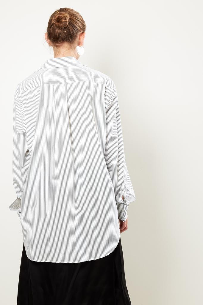 MM6 - Striped shirt