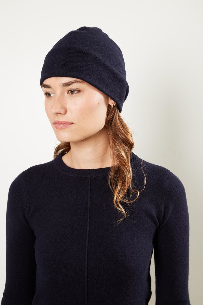 extreme cashmere - Nº80 bijou double layered beanie