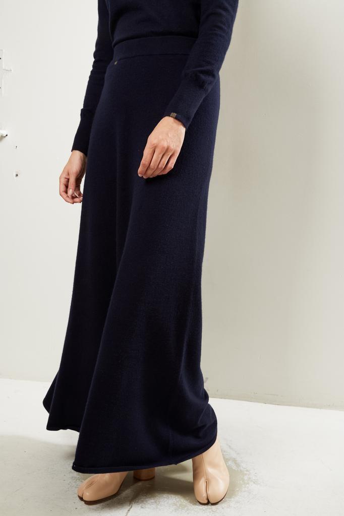 extreme cashmere Nº122 sas 2/60 a line maxi skirt