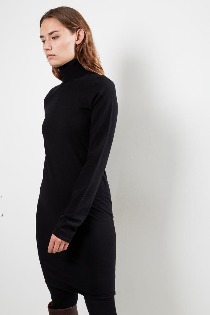 Helmut Lang Compact wool dress