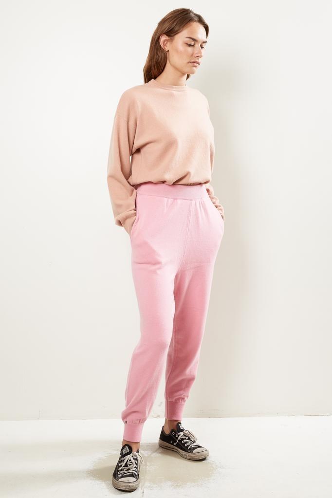 extreme cashmere Nº56 YOGI slim jogging pants