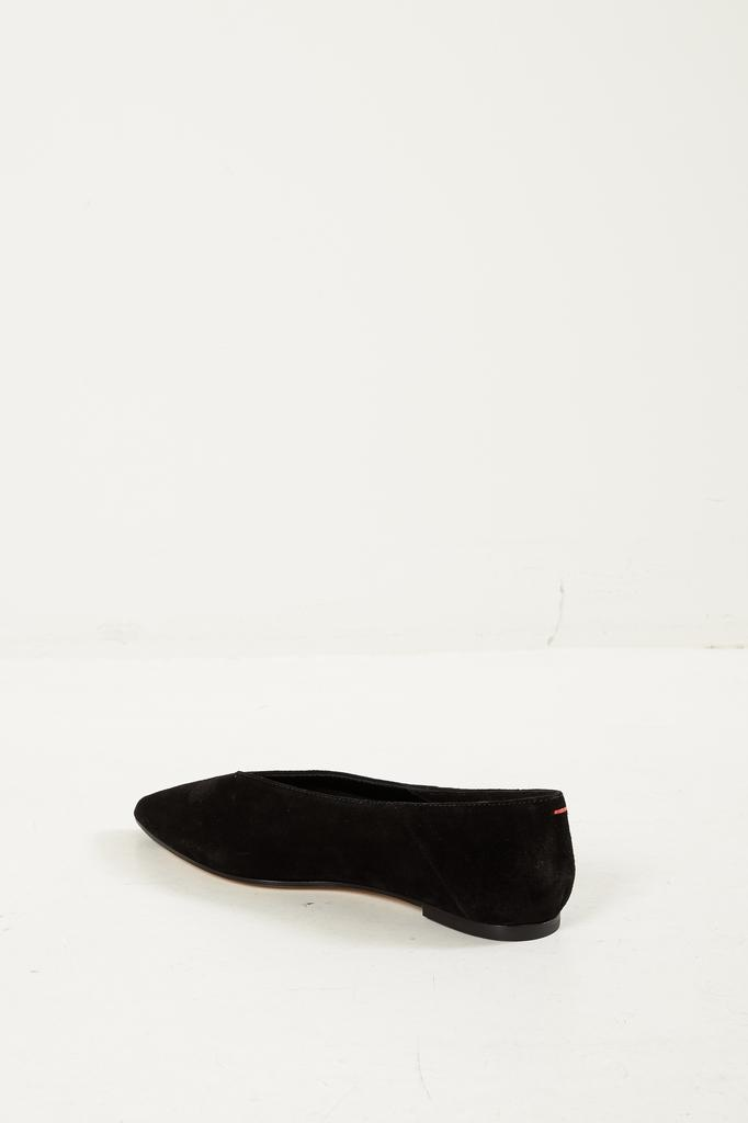 Aeyde - Moa cow suede flat