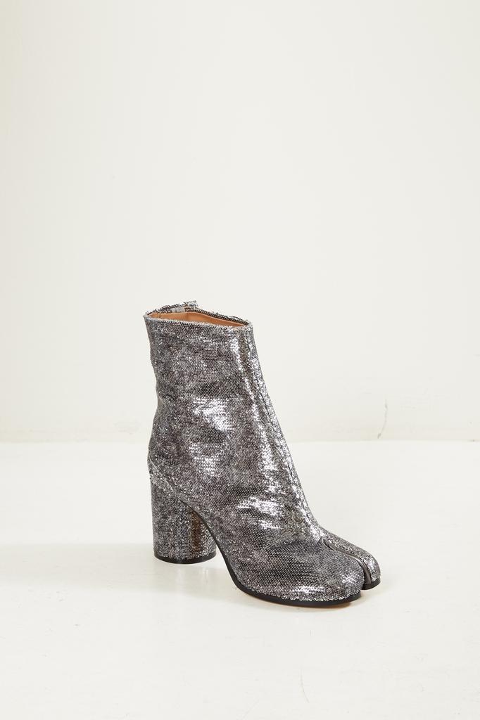 Maison Margiela - Tabi short pailette boots