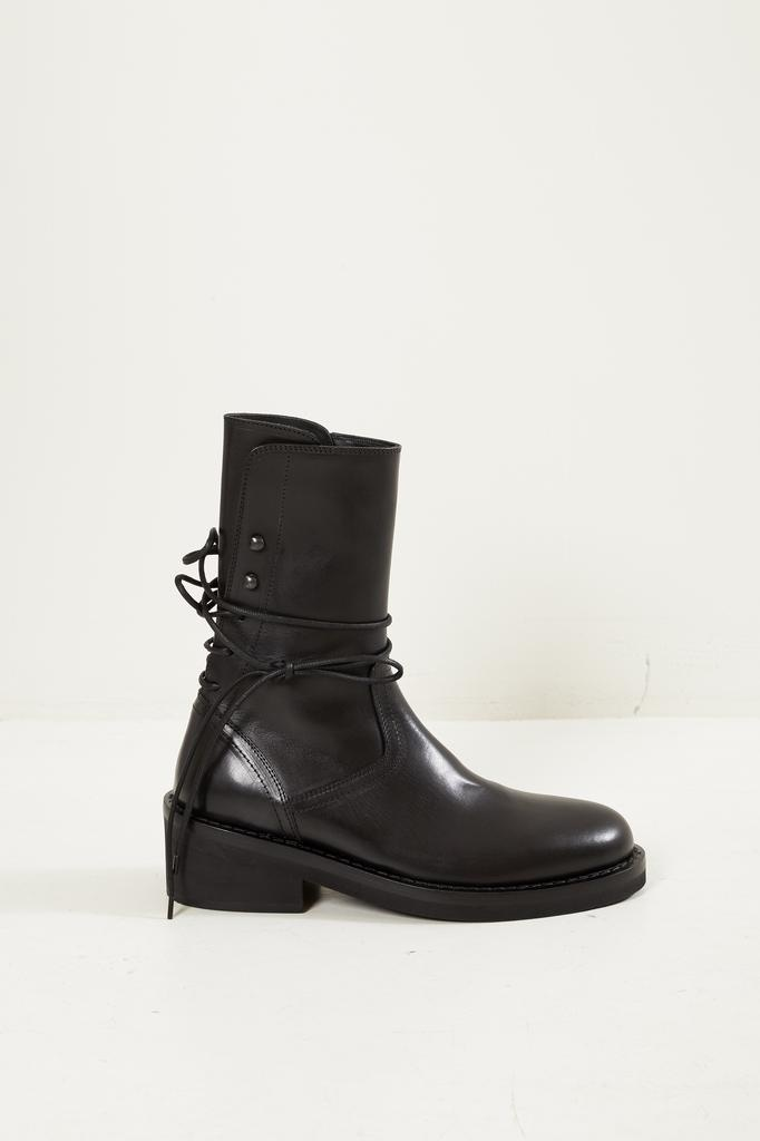 Ann Demeulemeester Vitello lux leather boots