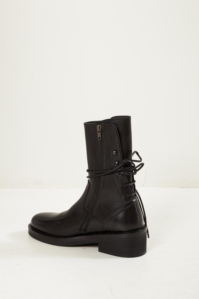 Ann Demeulemeester - Vitello lux leather boots