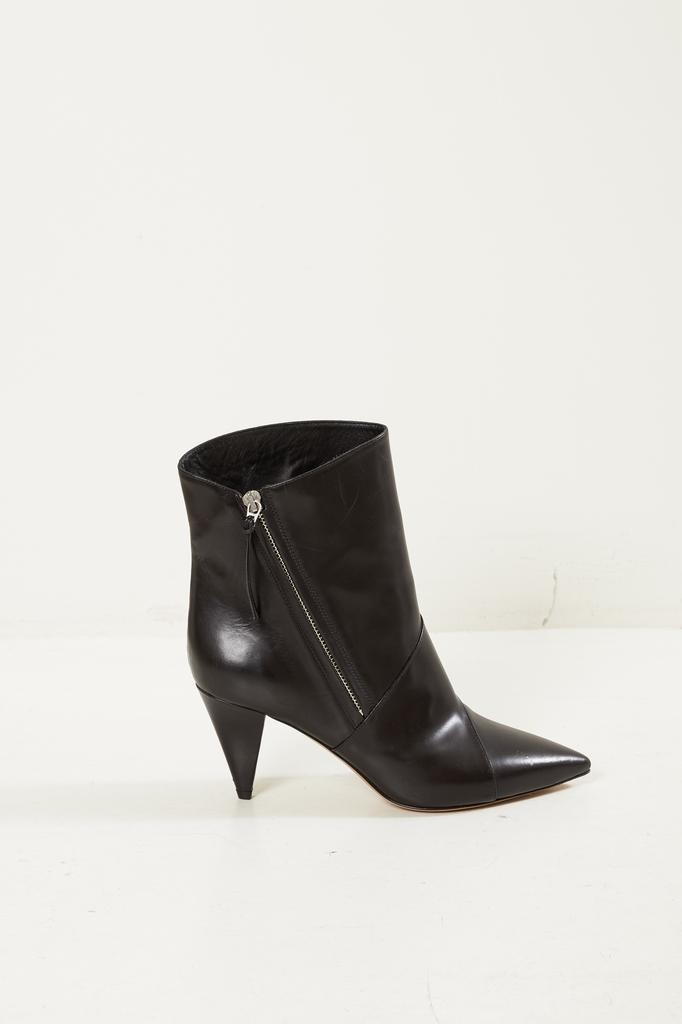 Isabel Marant Latts leather patch low boots