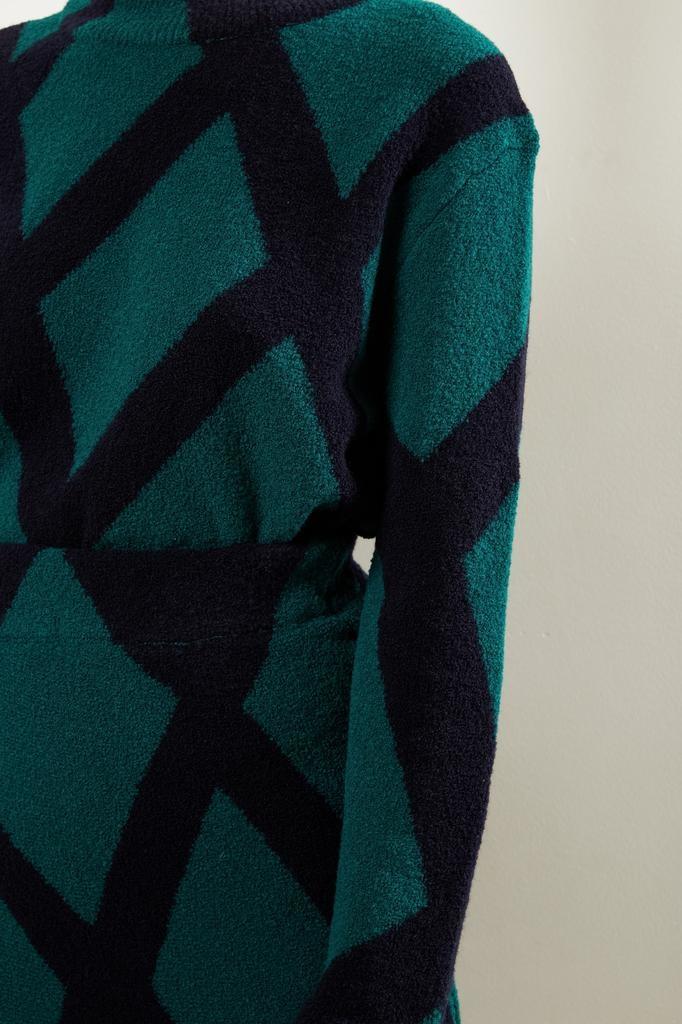 Christian Wijnants - Kosara intarsia skirt
