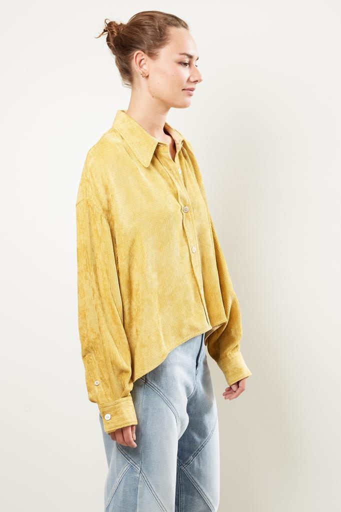 Isabel Marant Fanao flowing velvet shirt