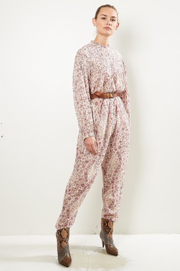 Etoile Isabel Marant - Liddy printed cotton all in one