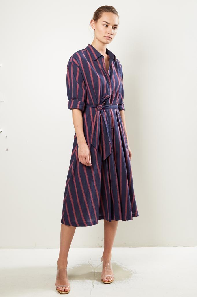 Xirena Everr benton striped dress