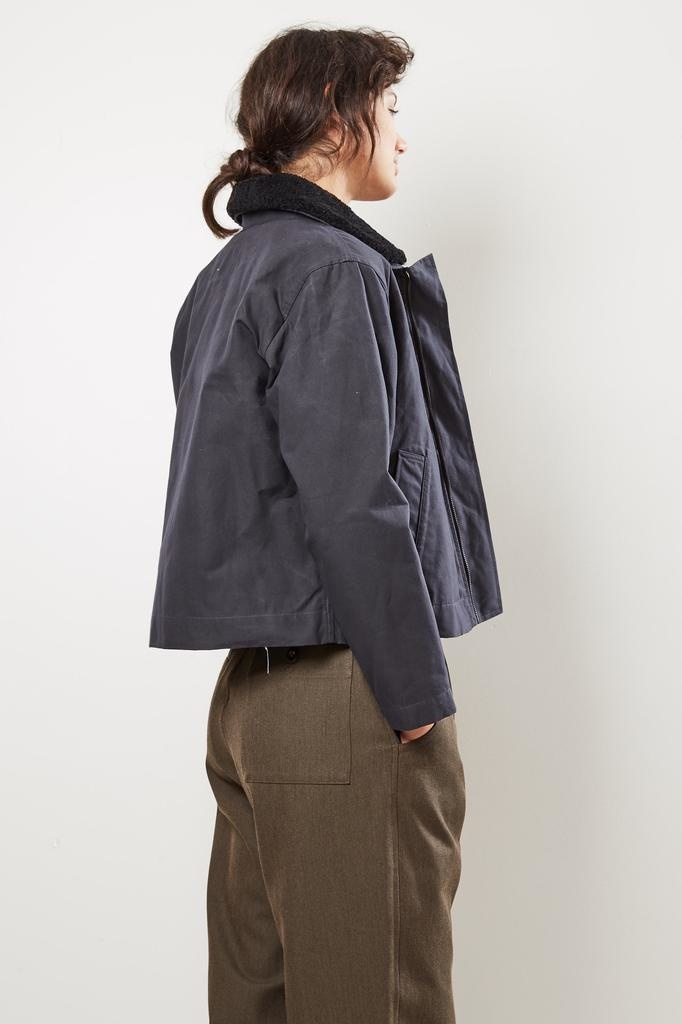Margaret Howell MHL washed waxed cotton canvas jacket