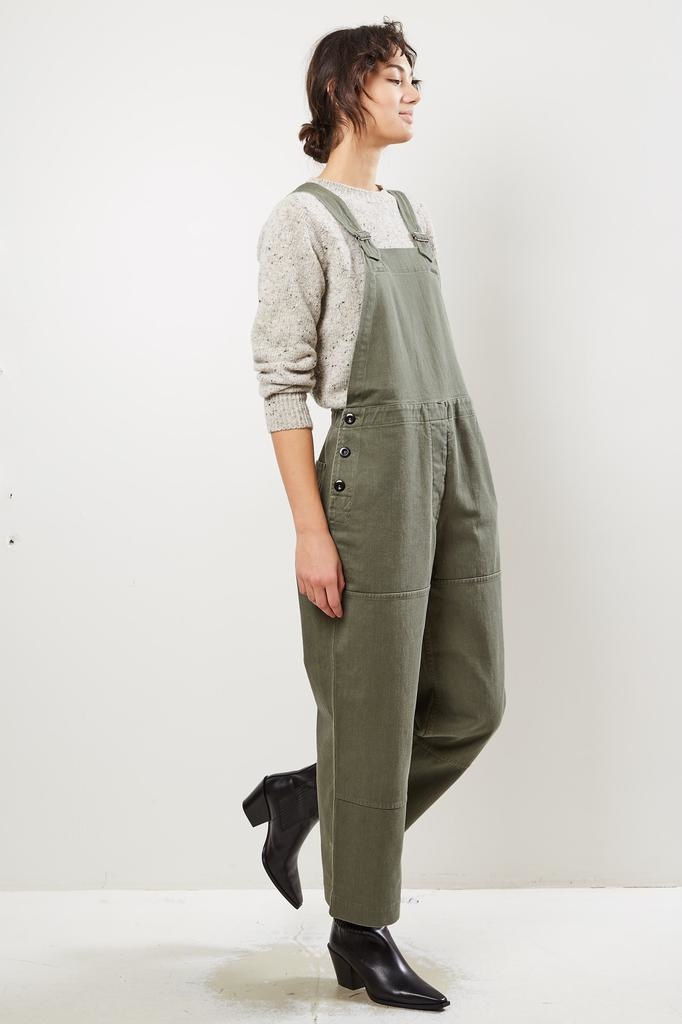 Margaret Howell - MHL fishermans soft cotton drill dungaree