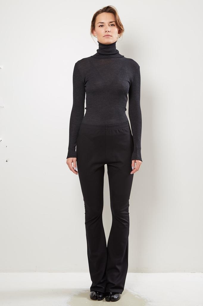 Monique van Heist Legging flare black roma trousers