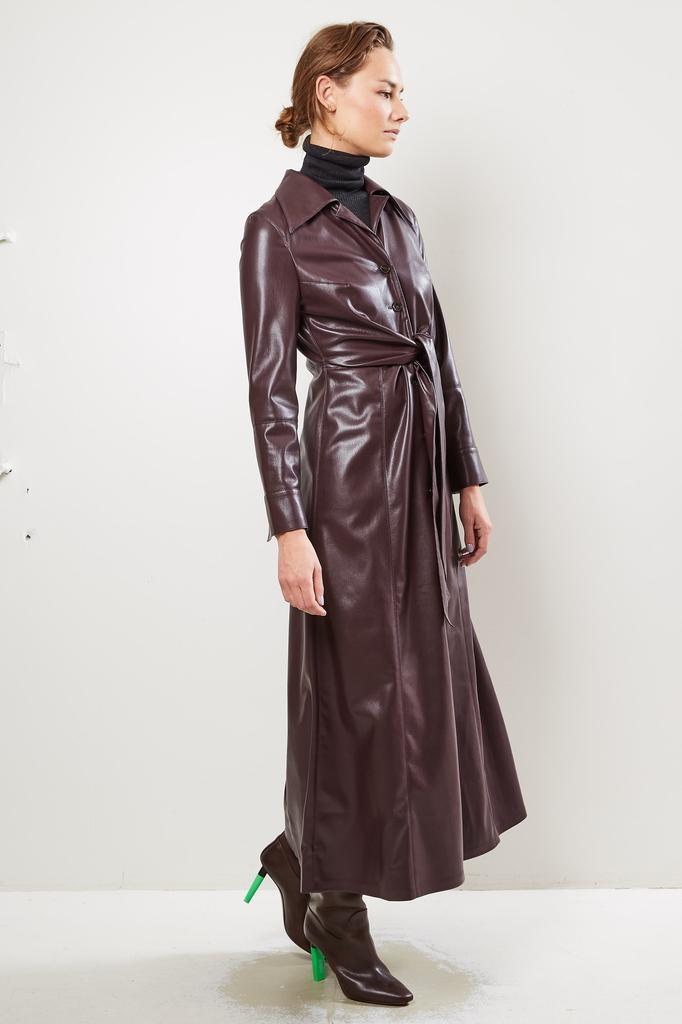 Nanuska Tarot Vegan Leather dress