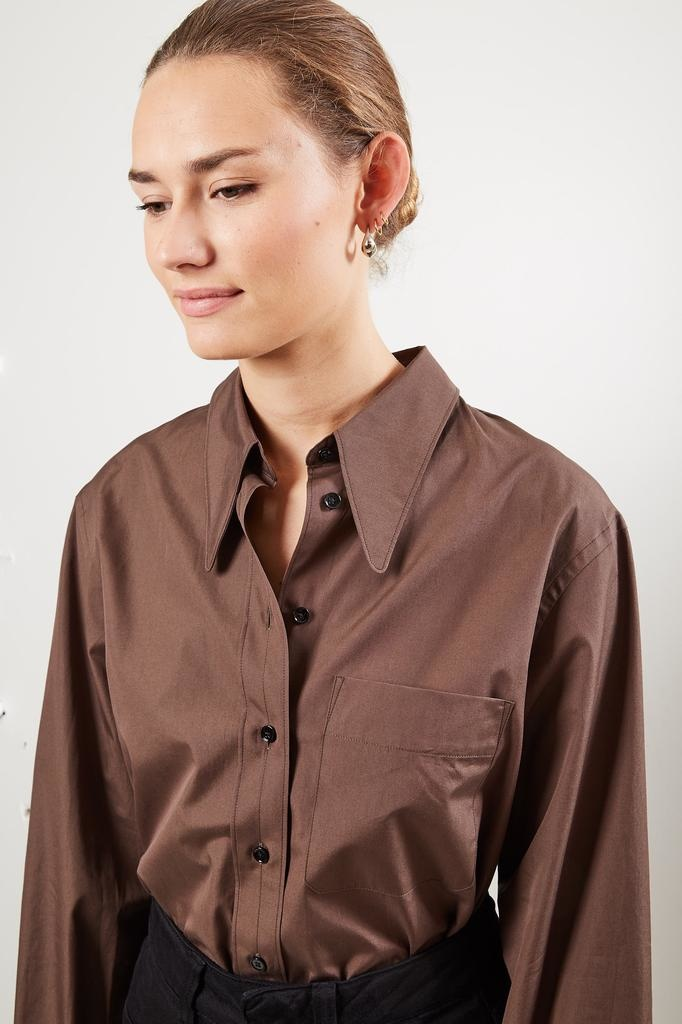 Lemaire - Pointed collar shirt