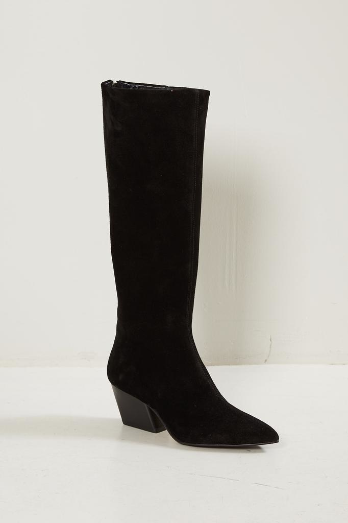 Aeyde Harper cow suede boots