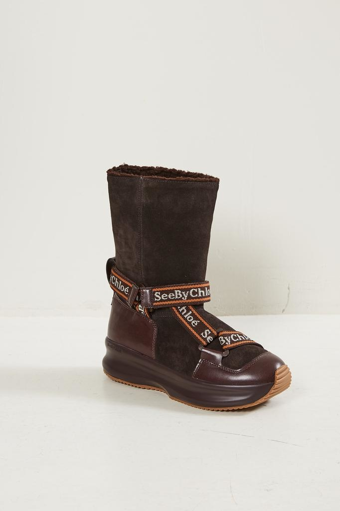 See by Chloé Nappa 568 moonboots
