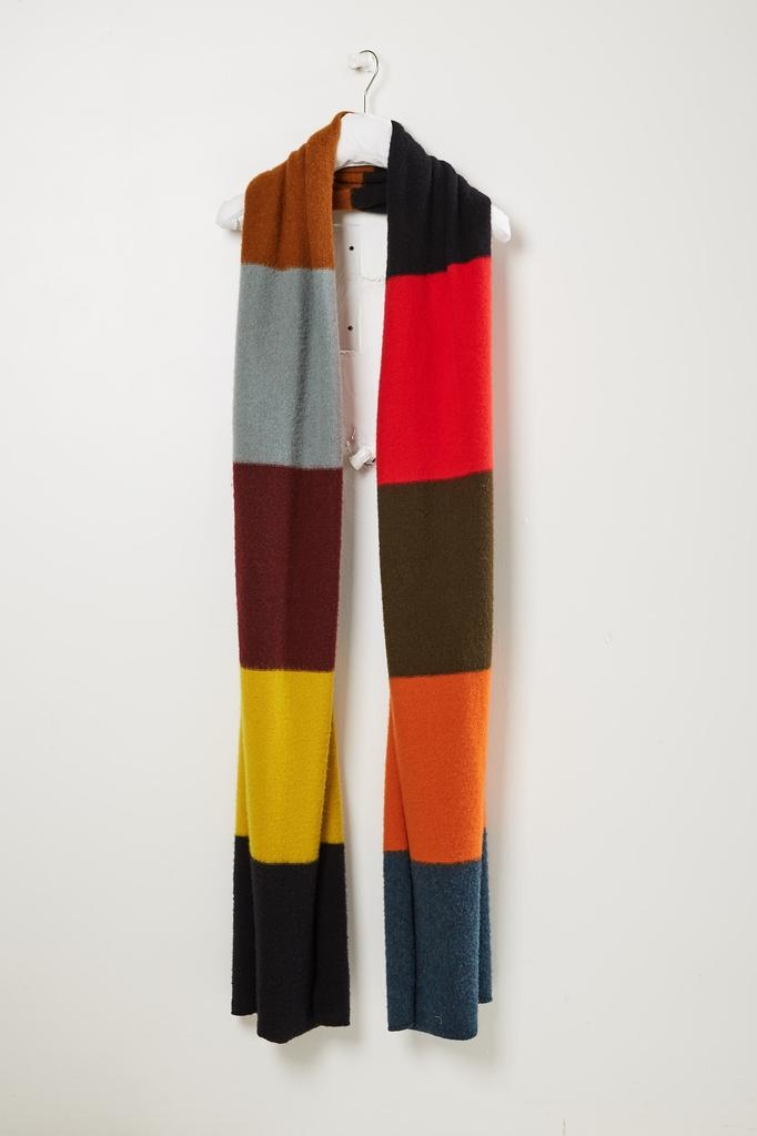 Jo Gordon Colourblock brushed blanket scarf