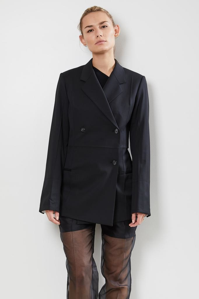 Helmut Lang double breasted wool jacket
