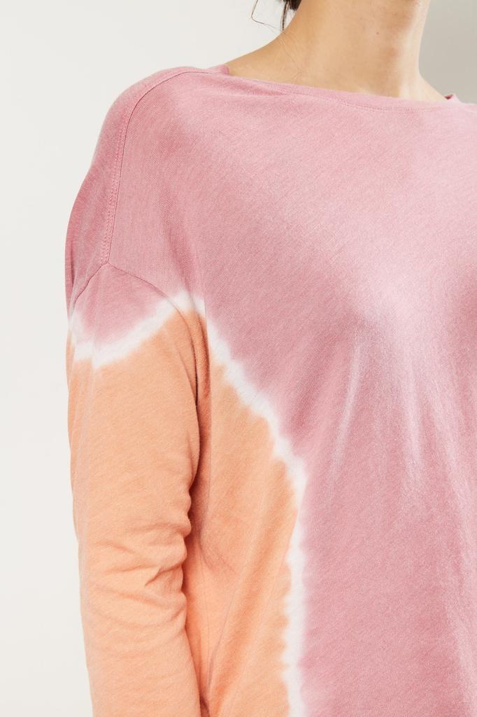 Raquel Allegra - 3/4 sleeve cocoon t-shirt